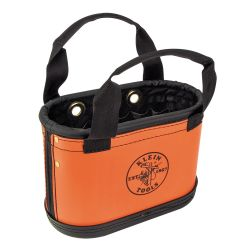 5144hbs Hard Body Oval Bucket Orange/Black