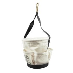 5171PS Heavy-Duty Tapered Wall Bucket 4 Pockets