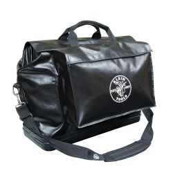 5182BLA Large Equipment Bag, Black Vinyl