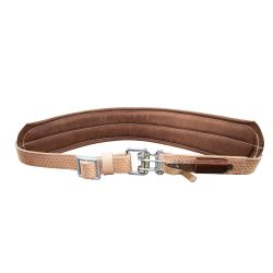 Padded Leather Quick-Release Belt, Large