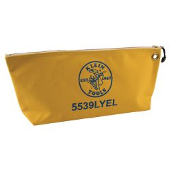5539LYEL Canvas Bag with Zipper, Large Yellow