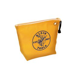 5539yel Canvas Zipper Bag- Consumables, Yellow