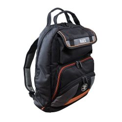 55475 Tradesman Pro™ Tool Bag Backpack, 35 Pockets, Black, 17.5-Inch