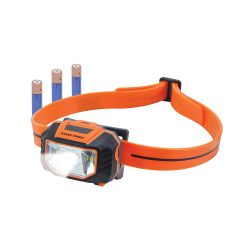 56220 LED Headlamp Flashlight with Strap for Hard Hat