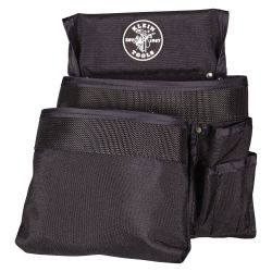 5701 Tool Pouch, PowerLine™ Series 8-Pocket Tool Pouch, Black Nylon