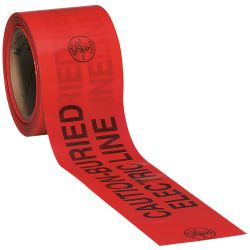 58003 Caution Barricade Warning Tape 1000 ft.