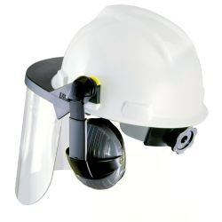 59987 Visor for Hard Hats and Caps Clear