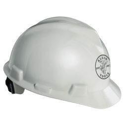 60019 V-Gard® Hard Cap, White, with Klein Lineman Logo