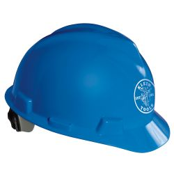 60021 V-Gard® Hard Cap, Blue, with Klein Lineman Logo
