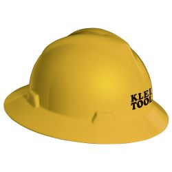 60035 V-Gard® Hard Hat, Yellow, with Klein Tools Logo