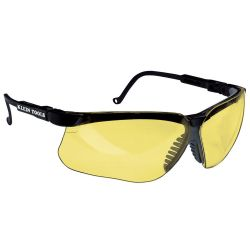 60049 Protective Eyewear, Black Frame and Amber Lens