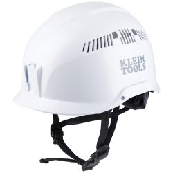 Safety Helmet, Vented-Class C, White