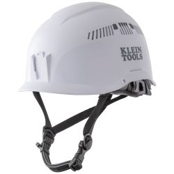 60149 Safety Helmet, Vented-Class C, White
