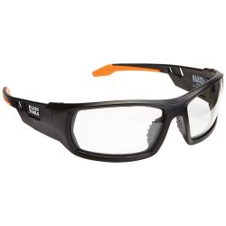 60163 Professional Safety Glasses, Full Frame, Clear Lens