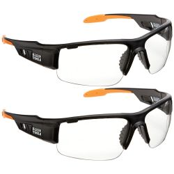 60172 PRO Safety Glasses-Wide Lens, 2-Pack