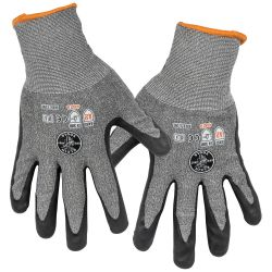 60185 Work Gloves, Cut Level 2, Touchscreen, Large, 2-Pair