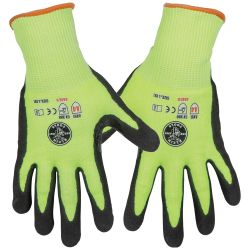 60186 Work Gloves, Cut Level 4, Touchscreen, Large, 2-Pair