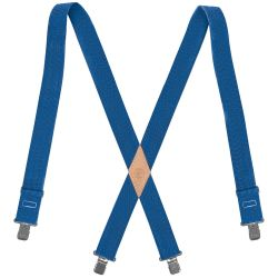 60210b Nylon-Web Suspenders with Adjustable Back