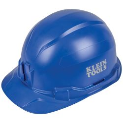 Hard Hat, Non-vented, Cap Style, Blue