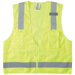 60268 Safety Vest, High-Visibility Reflective Vest, XL