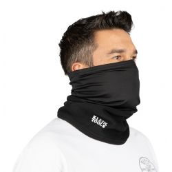 Neck and Face Warming Half-Band, Black