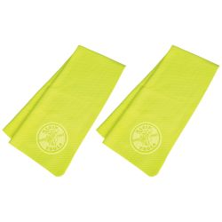 60486 Cooling PVA Towel, High-Visibility Yellow, 2-Pack