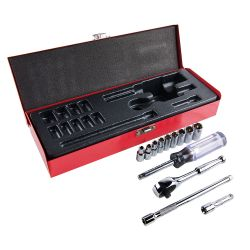 65500 1/4-Inch Drive Socket Wrench Set, 13-Piece