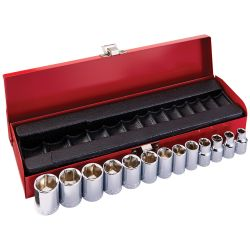 65506 3/8-Inch Drive Socket Set, Metric, 13-Piece