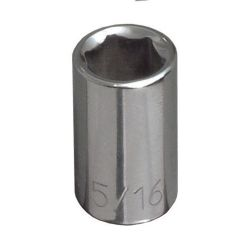65602 1/4'' Std 6-Point Socket - 1/4'' Drive