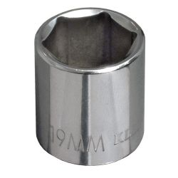 65916 16 mm Metric 6-Point Socket - 3/8'' Drive