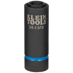 66004 2-in-1 Impact Socket, 6-Point, 3/4 and  9/16-Inch