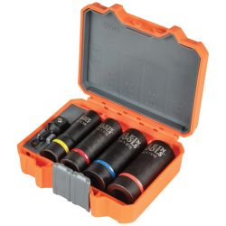 66040 2-in-1 Impact Socket Set, 5-Piece
