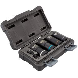 66050E 2-in-1 Metric Impact Socket Set, 12-Point, 5-Piece