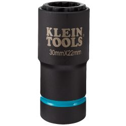 66053E 2-in-1 Metric Impact Socket, 12-Point, 30 x 22 mm