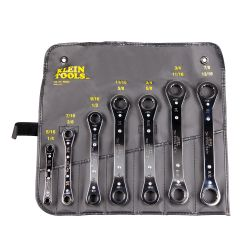 68222 7 Piece Ratcheting Box Wrench Set