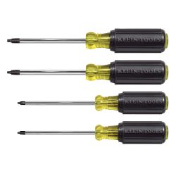 85664 Screwdriver Set, Square Recess, 4-Piece
