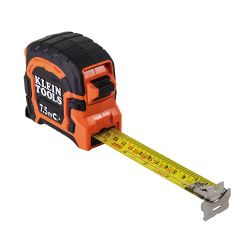 86375 7.5 M Double Hook Magnetic Tape Measure