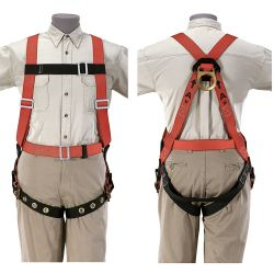 87023 Lightweight Fall-Arrest Harness, XX-Large