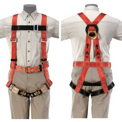 87075 Fall Arrest Harness, L