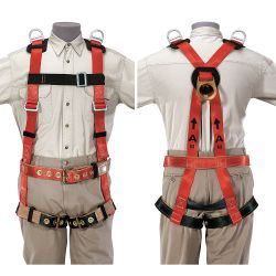 87091 Safety Harness for Tower Work, L