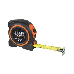 Tape Measures - Klein Tools Tape Measures offer innovative first-rate features to help make jobs easier and more efficient. Uncluttered, bold numbers improve readability. Measuring tools built to withstand tough jobsite conditions.