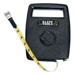 946-50 Tape Measure, 50-Foot Woven Fiberglass, with Case