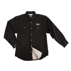 96610blk-2xl Klein Electrician's Shirt - Men's Black, 2XL