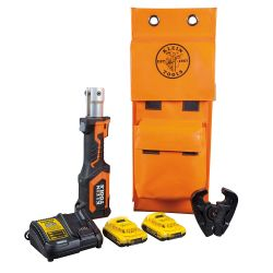 BAT207T2 Battery-Operated Crimper, D3 Groove, 2 Ah