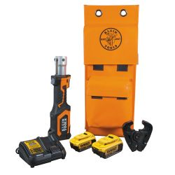 BAT207T24H Battery-Operated Cable Crimper, D3 Groove, 4 Ah
