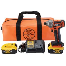 BAT20CD1 Battery-Operated Compact Impact Driver, 1/4-Inch Hex Drive, Full Kit
