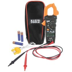 CL220 Digital Clamp Meter, AC Auto-Ranging 400 Amp with Temp