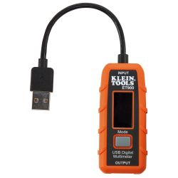 USB Digital Meter, USB-A (Type A)