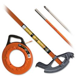 Fish Tapes & Conduit Tools - Pulling wire and working with conduit is very challenging without the proper tools. Klein Tools' complete line of conduit tools allows you to get the job done while saving time, effort and materials.