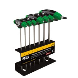 jth67t TORX T-Handle Hex Key Set and Stand, 6-Inch, 7-Pc